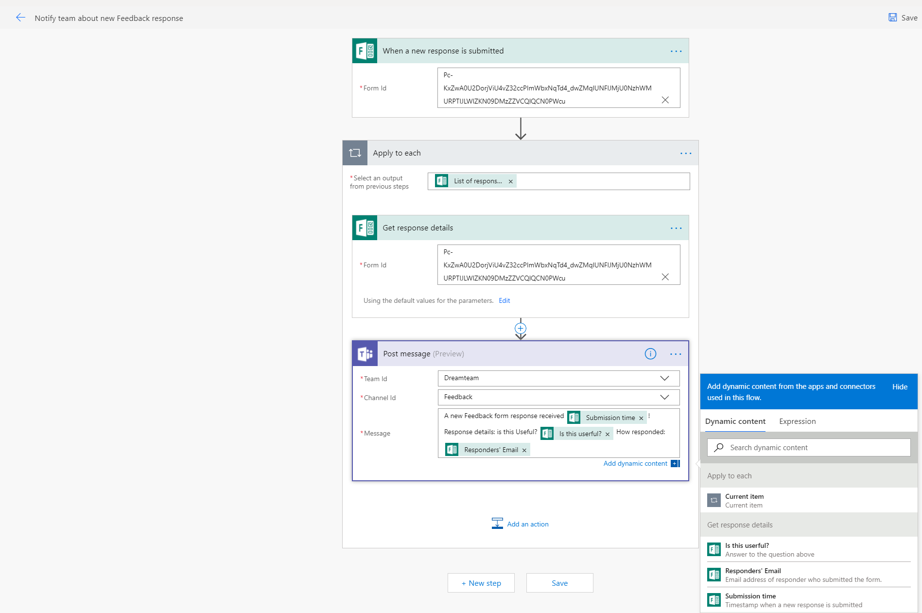 Build a Flow to your Team's Forms (and get notified when