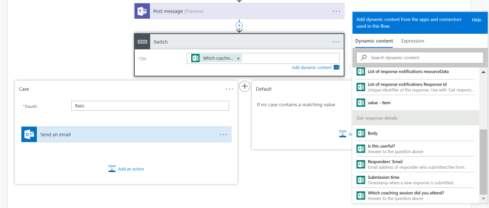 Build a Flow to your Team's Forms (and get notified when team Form