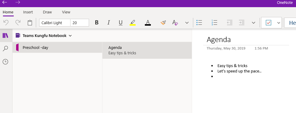 Use OneNote notebook efficiently with teams – my TeamsDay