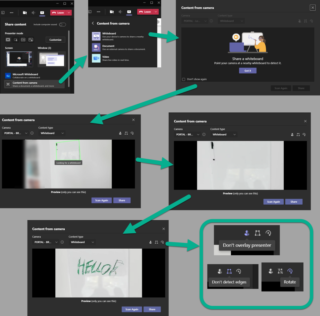 Microsoft Teams Whiteboard updated! Take a look at the new user experience!